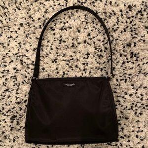 Kate Spade vintage black nylon shoulder bag